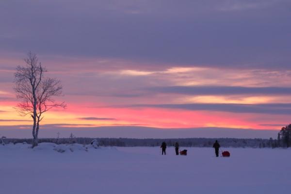 Vuodenvaihteen kaamosvaellus, Inarijärvi