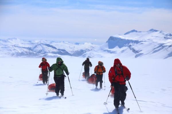 Islanti Vatnajökull retkikunta