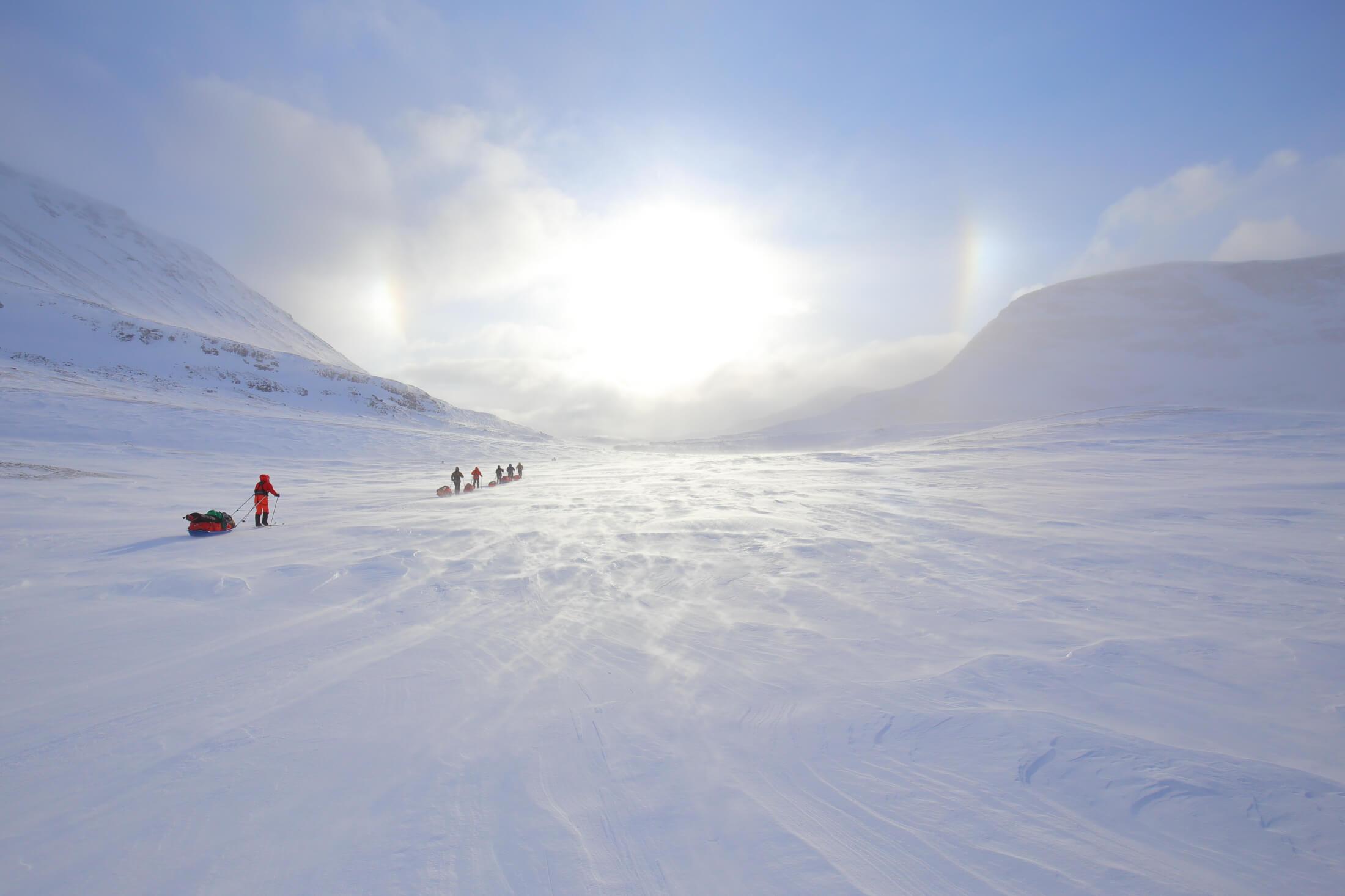 Kolme valtakuntaa hiihtovaellus