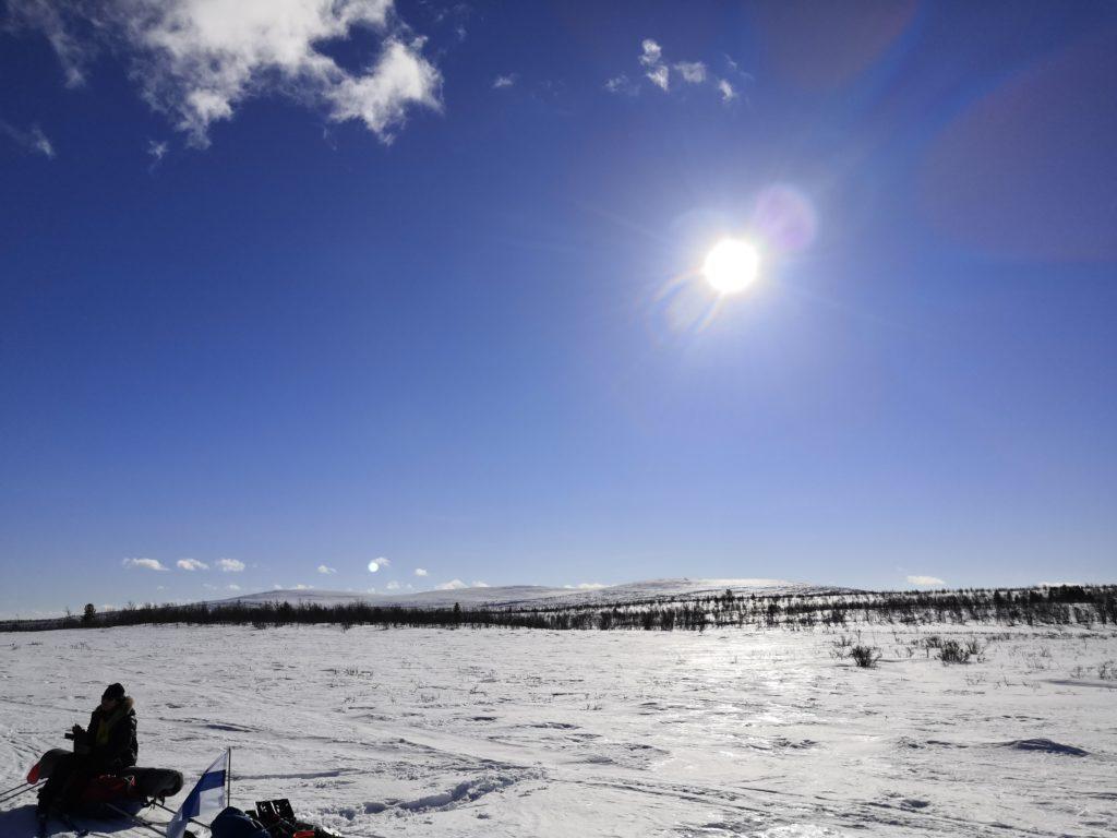 tunturi, tunturihiihto, hiihtovaellus, talvivaellus