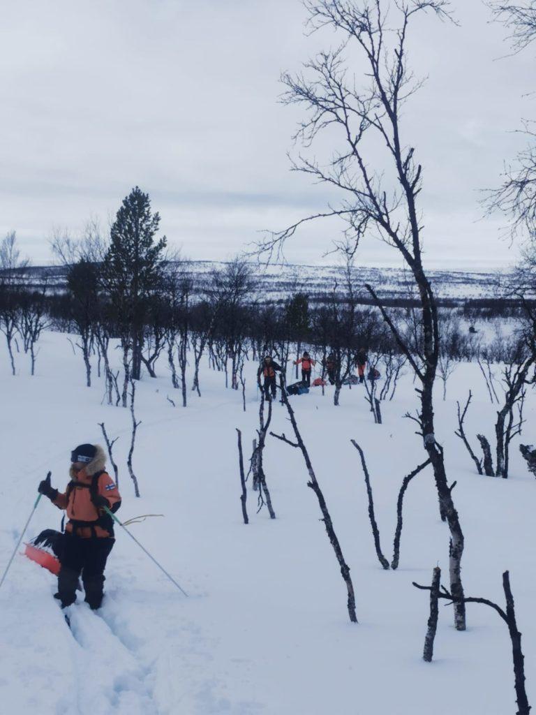 Kaldoaivi, umpihanki, hiihtovaellus, talvivaellus