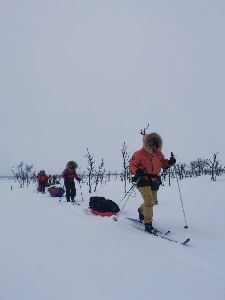hiihtovaellus, talvivaellus, Kaldoaivi, Kaldoaivin erämaa-alue